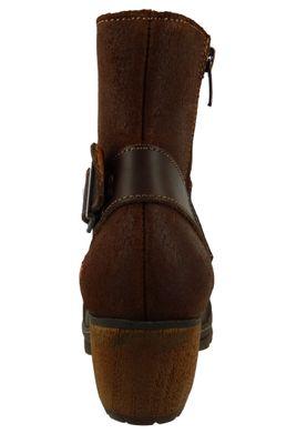 Art Leder Stiefelette Ankle Boot Oslo Braun 0516 Brown Adobe – Bild 3