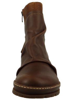 Art Leder Stiefelette Ankle Boot Oslo Braun 0516 Brown Adobe – Bild 5