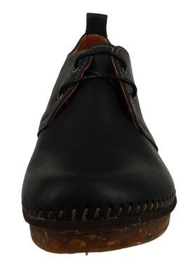Art 0331 Damen Pantolette Sandale Pumps Amsterdam Black Schwarz – Bild 6
