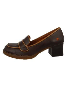 Art Schuhe Leder Pumps Platform Heels Bristol Braun Brown 0076 – Bild 2