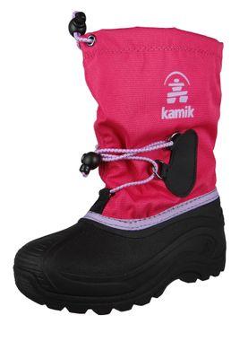 Kamik Kinder Winterstiefel Southpole 4 Gefüttert Stiefel NK8727 Pink Bright Rose – Bild 1