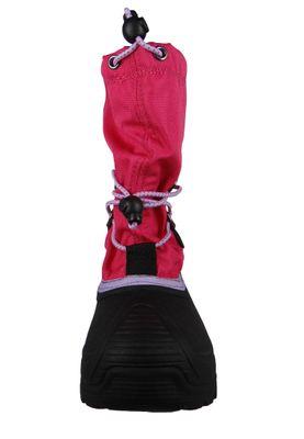 Kamik Kinder Winterstiefel Southpole 4 Gefüttert Stiefel NK8727 Pink Bright Rose – Bild 5