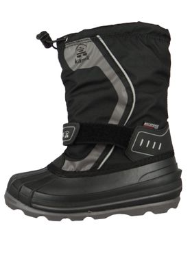 Kamik Kids Winter Boots Snowcoast 4 Lined Boots NK4852 Black Black – Bild 2