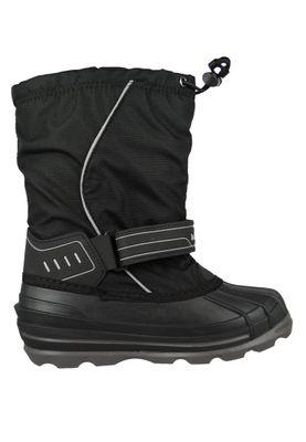Kamik Kinder Winterstiefel Snowcoast 4 Gefüttert Stiefel NK4852 Schwarz Black – Bild 4