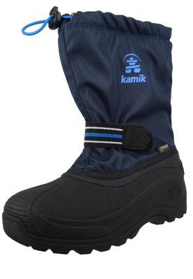 Kamik Kids Winter Boots Invade GTX Gore-Tex Lined Boots NF4019 Blue Navy – Bild 1