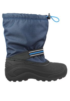Kamik Kids Winter Boots Invade GTX Gore-Tex Lined Boots NF4019 Blue Navy – Bild 5