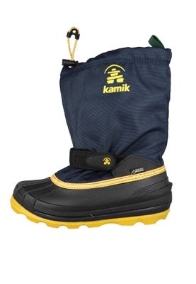 Kamik Kids Winter Boots Waterbug8G Gore-Tex Lined Boots NF4805 Blue Navy Citrus – Bild 2