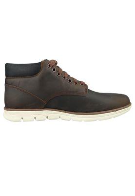 Timberland Herren Schnürschuhe Bradstreet Chukka Boots Braun Nubuck Potting Soil CA1TUZ – Bild 4