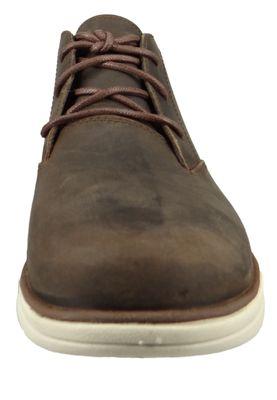 Timberland Herren Schnürschuhe Bradstreet PT Chukka Boots Braun Leder Potting Soil CA1TW9 – Bild 5