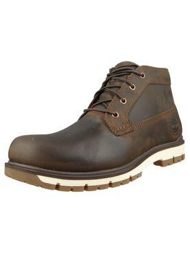 Timberland Herren Schnürschuhe Radford PT Chukka WP Boots Braun Leder Potting Soil A1UOW – Bild 1