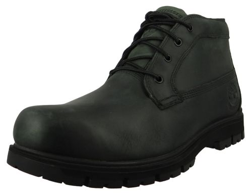 Timberland Mens Lace-Up Shoes Radford PT Chukka WP Boots Gray Leather Phantom A1UP8 – Bild 1