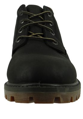Timberland Premium Lace Up WP Chukka Boots Black Leather Black A1UIX – Bild 5