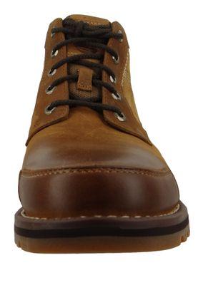 Timberland Herren Schnürschuhe Larchmont Chukka Boots Braun Brown CA13HD – Bild 5