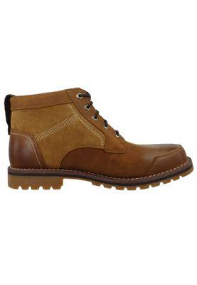 Timberland Herren Schnürschuhe Larchmont Chukka Boots Braun Brown CA13HD – Bild 4