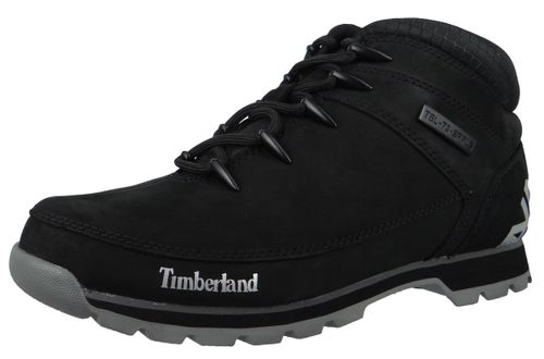 Timberland Men's Lace-Up Shoes Euro Sprint Hiker Black Black A1RI9 – Bild 1