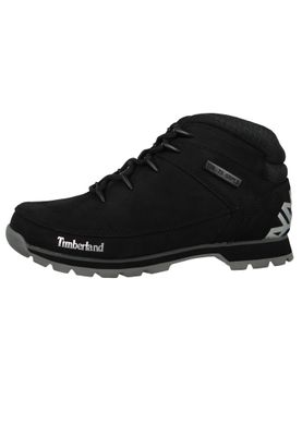 Timberland Men's Lace-Up Shoes Euro Sprint Hiker Black Black A1RI9 – Bild 5