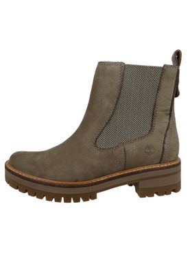 Timberland Womens Ankle Boot Courmayeur Valley Chelsea Boot Gray Gray Taupe Gray A1RRK – Bild 2