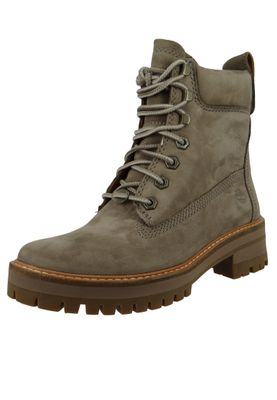 Timberland Womens Ankle Boot Courmayeur Valley Boot Gray Gray Taupe Gray A1RQX – Bild 1
