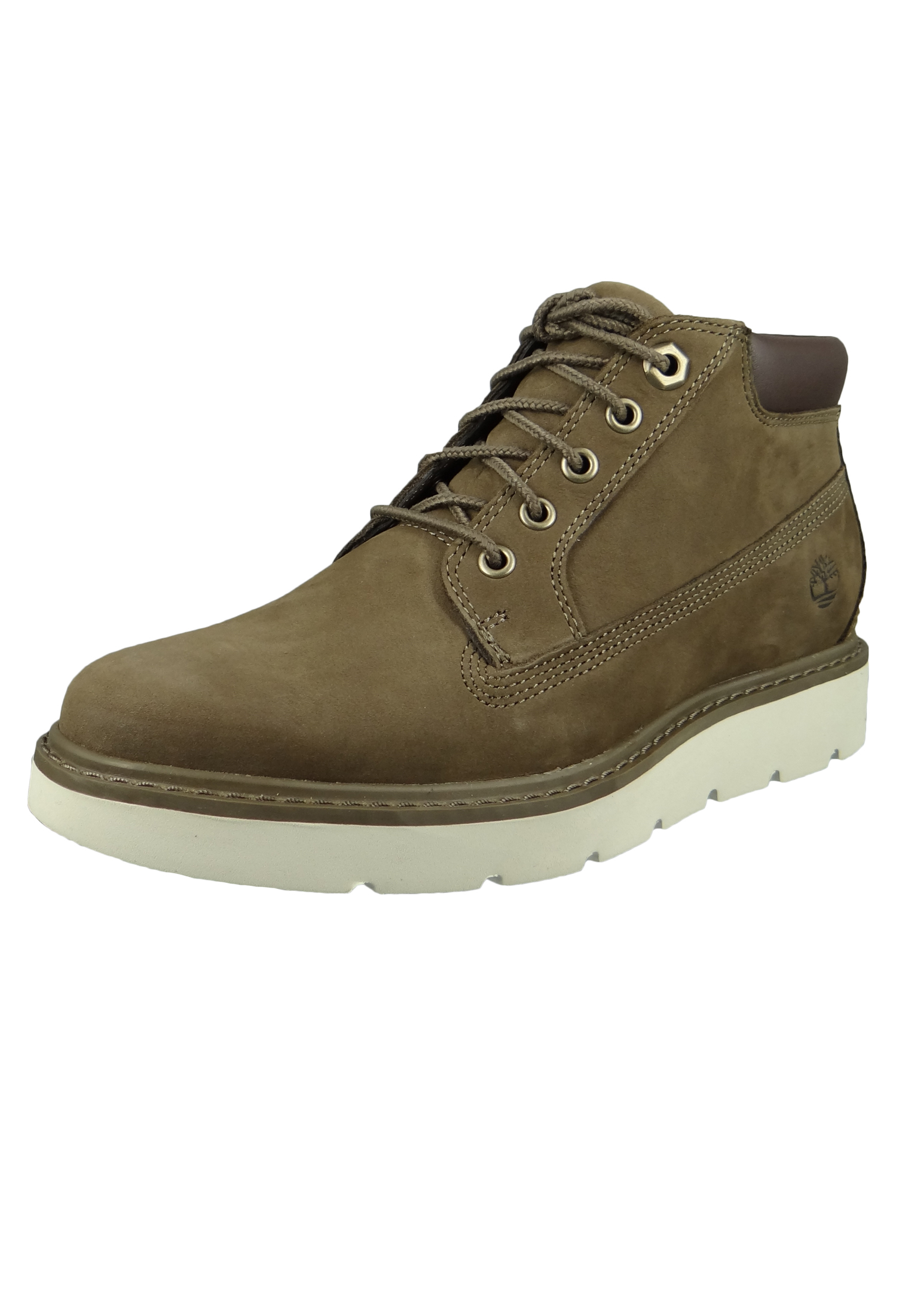 Timberland Damen Stiefelette Braun A1S7E Kenniston Nellie Lace Up Boot Canteen