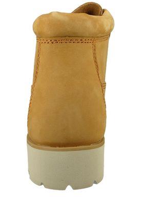 Timberland Damen Stiefelette Heritage Lite Nellie Leder Wheat Braun A1UN3 – Bild 5