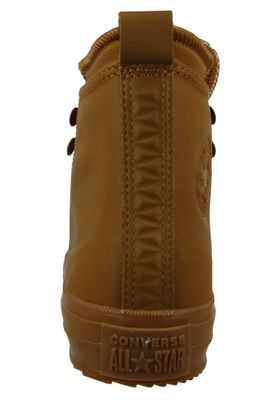 Converse Chucks 162500C Braun Leder Chuck Taylor All Star WP Boot HI Burnt Caramel – Bild 6