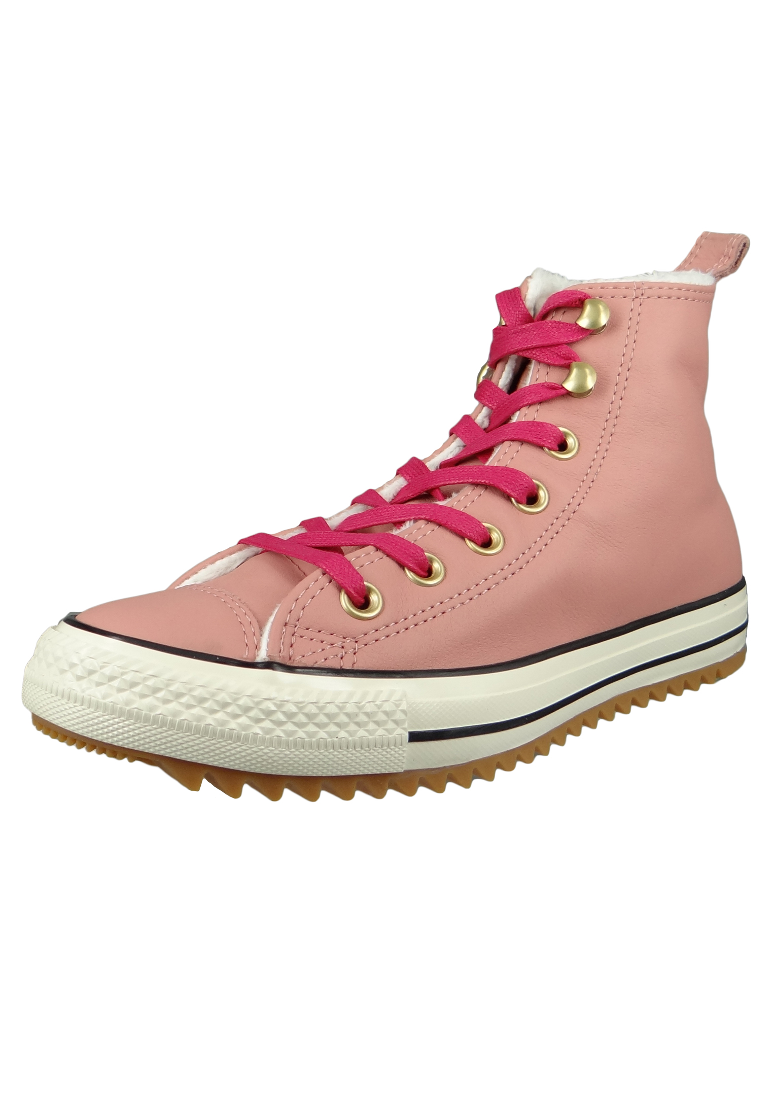 994fc5a4138b8 Converse Chucks 162477C Pink Leder Chuck Taylor All Star Hiker Boot Rust  Pink Pink Pop