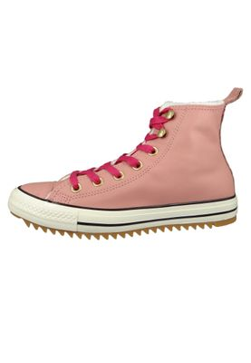 Converse Chucks 162477C Pink Leder Chuck Taylor All Star Hiker Boot Rust Pink Pink Pop – Bild 3