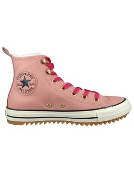 Converse Chucks 162477C Pink Leder Chuck Taylor All Star Hiker Boot Rust Pink Pink Pop – Bild 5