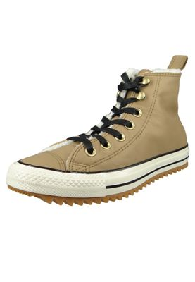 Converse Chucks 162479C Braun Leder Chuck Taylor All Star Hiker Boot Teak Black Natural Ivory – Bild 1