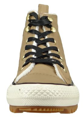 Converse Chucks 162479C Braun Leder Chuck Taylor All Star Hiker Boot Teak Black Natural Ivory – Bild 6