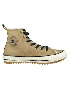 Converse Chucks 162479C Braun Leder Chuck Taylor All Star Hiker Boot Teak Black Natural Ivory – Bild 5