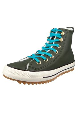 Converse Chucks 162478C Grün Leder Chuck Taylor All Star Hiker Boot Utility Green Rapid Teal – Bild 1