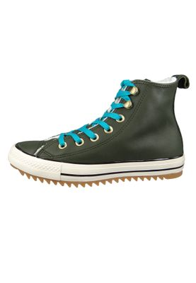 Converse Chucks 162478C Grün Leder Chuck Taylor All Star Hiker Boot Utility Green Rapid Teal – Bild 2