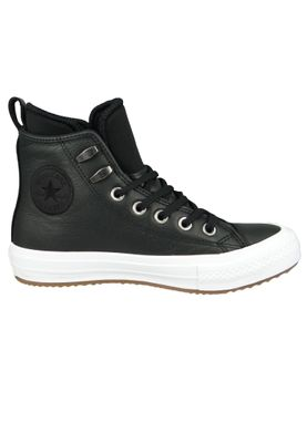 Converse Chucks Schwarz 557943C Chuck Taylor All Star WP Boot HI Black Black White – Bild 5