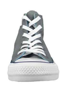 Converse Chucks 162451C Grau Chuck Taylor All Star HI Cool Grey Shoreline Blue – Bild 2