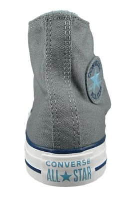 Converse Chucks 162451C Grau Chuck Taylor All Star HI Cool Grey Shoreline Blue – Bild 5