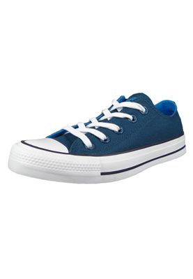 Converse Chucks 162452C Blau Chuck Taylor All Star OX Blue Fire Blue Hero Inked – Bild 1