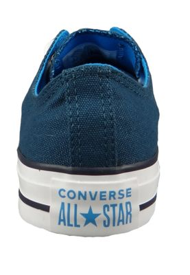 Converse Chucks 162452C Blau Chuck Taylor All Star OX Blue Fire Blue Hero Inked – Bild 5