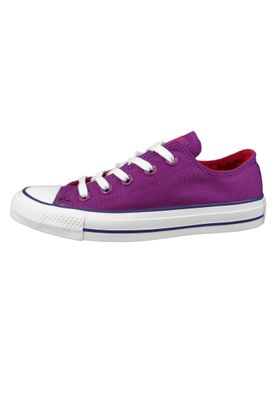 Converse Chucks 162453C Lila Chuck Taylor All Star OX Icon Violet Pink Pop White – Bild 3