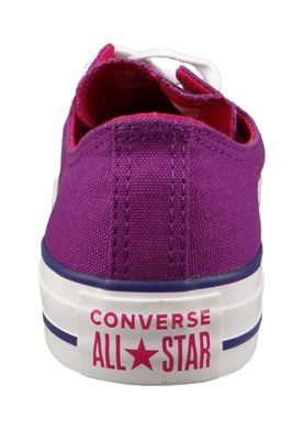 Converse Chucks 162453C Lila Chuck Taylor All Star OX Icon Violet Pink Pop White – Bild 4