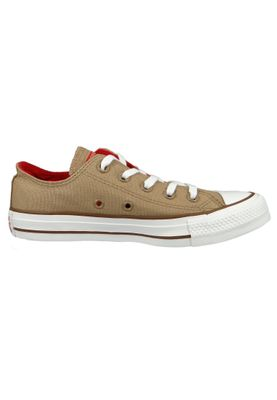 Converse Chucks 162454C Beige Chuck Taylor All Star OX Teak Cherry Red Chestnut Brown – Bild 5