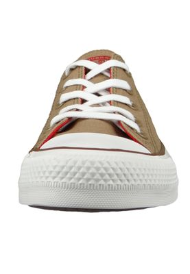 Converse Chucks 162454C Beige Chuck Taylor All Star OX Teak Cherry Red Chestnut Brown – Bild 6