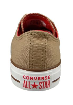 Converse Chucks 162454C Beige Chuck Taylor All Star OX Teak Cherry Red Chestnut Brown – Bild 4