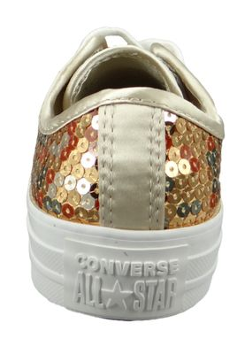 Converse Chucks Gold 562446C Chuck Taylor All Star OX Gold Light Gold White – Bild 3