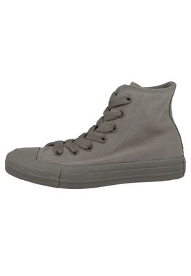 Converse Chucks 162462C Grau Leder Chuck Taylor All Star HI Mercury Grey  – Bild 3