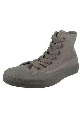 Converse Chucks 162462C Grau Leder Chuck Taylor All Star HI Mercury Grey  – Bild 1