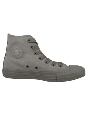 Converse Chucks 162462C Grau Leder Chuck Taylor All Star HI Mercury Grey  – Bild 5