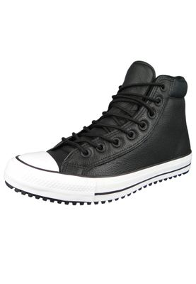 Converse Chucks 162415C Schwarz Leder Chuck Taylor All Star PC Boot HI Black White – Bild 2