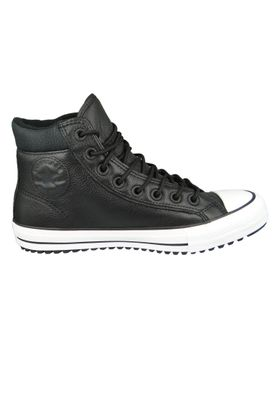 Converse Chucks 162415C Schwarz Leder Chuck Taylor All Star PC Boot HI Black White – Bild 5