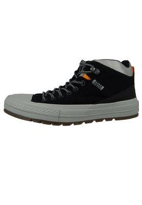 Converse Chucks 162360C Schwarz Leder Chuck Taylor All Star Street Boot HI Black Black Dolphin – Bild 3